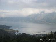 Batur Lake and Mountain
