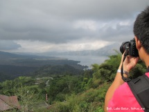 Lake and mountain @ Batur