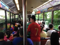 The tram to The Peak